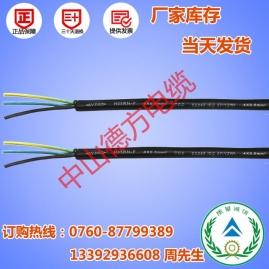 橡胶电源线生产厂家 产品结构的名称与材料